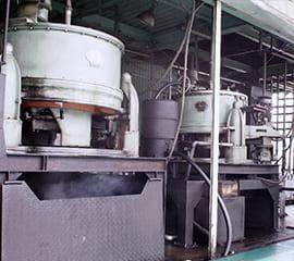 再生重油の設備