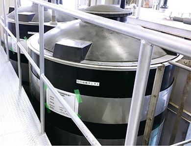中和処理設備、汚水処理設備