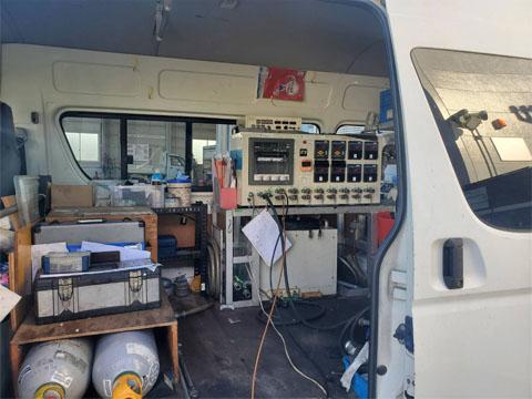 タンクの気密漏洩検査、定期点検
